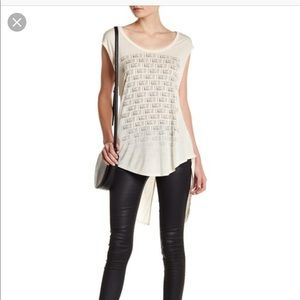 I Want It Cap Sleeve High-Low Tee